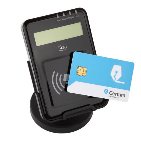 Czytnik kart zbliżeniowych z NFC ACR1222L