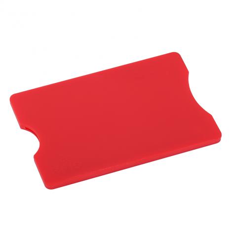 Etui ochronne na kartę kryptograficzną w kolorze czerwonym