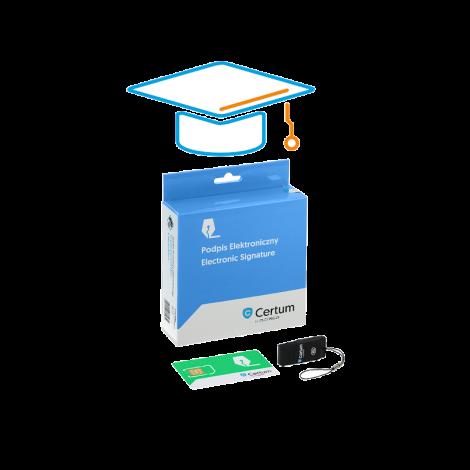 Zestaw Mini z dostępem do e-Akademii Certum