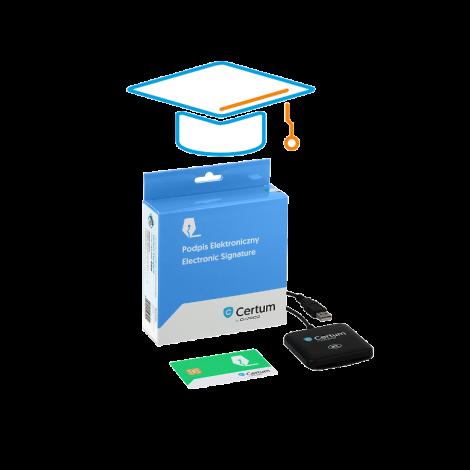 Zestaw Standard z dostępem do e-Akademii Certum